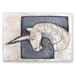 Einhorn: Silber 925, geschwärzt