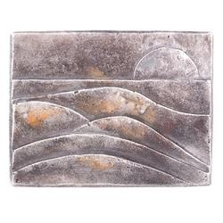 Landschaft: Silber 925, patiniert