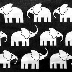 Elefanten (schwarz)